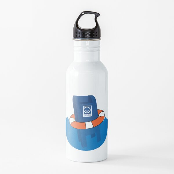 Save the US Post Office - STUSPO in White Water Bottle