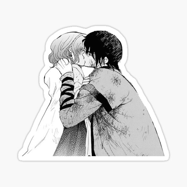 Yona and Hak Sticker