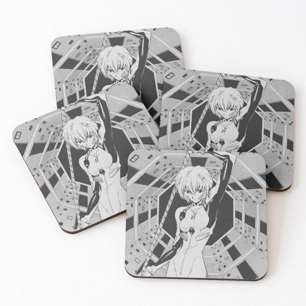 Rei Evangelion Coasters (Set of 4)