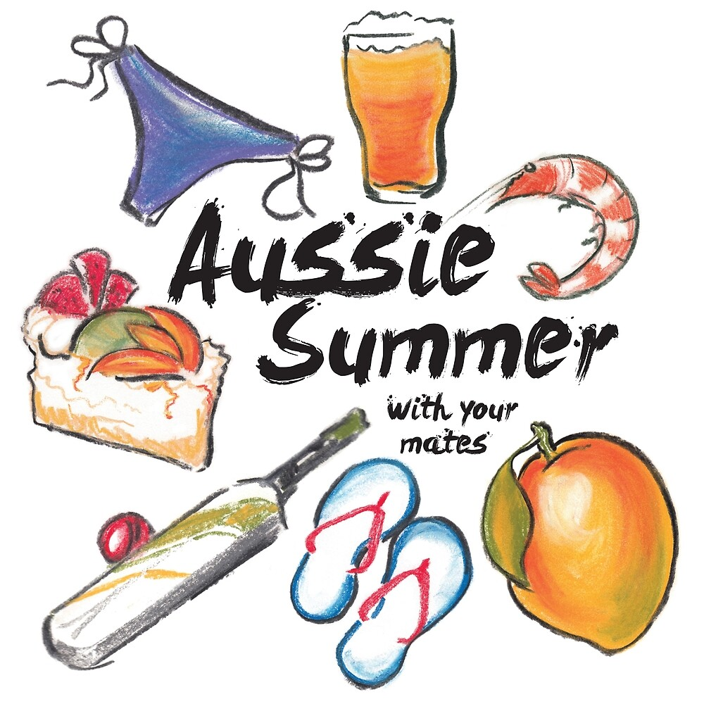 Aussie Summer with your mates by secret-weapon