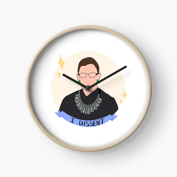 Ruth Bader Ginsburg Tribute Clock