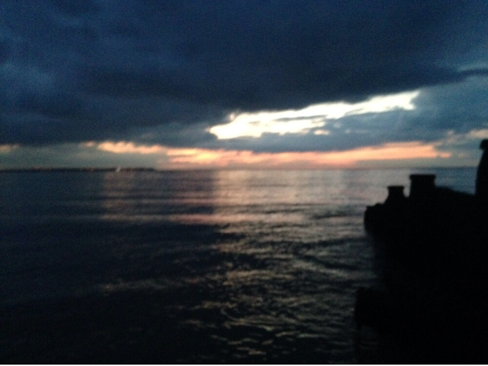 Whitstable sunset by Candypop12