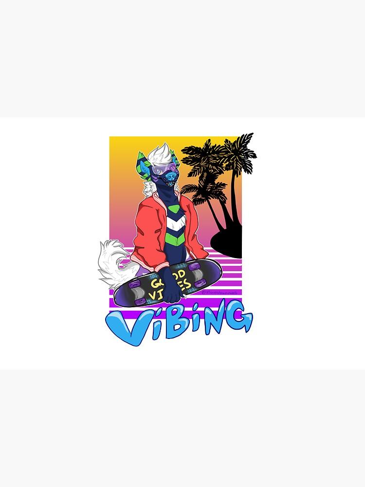 Vaporwave Vibing  by klovesbunnies