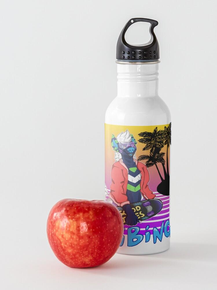 Alternate view of Vaporwave Vibing  Water Bottle