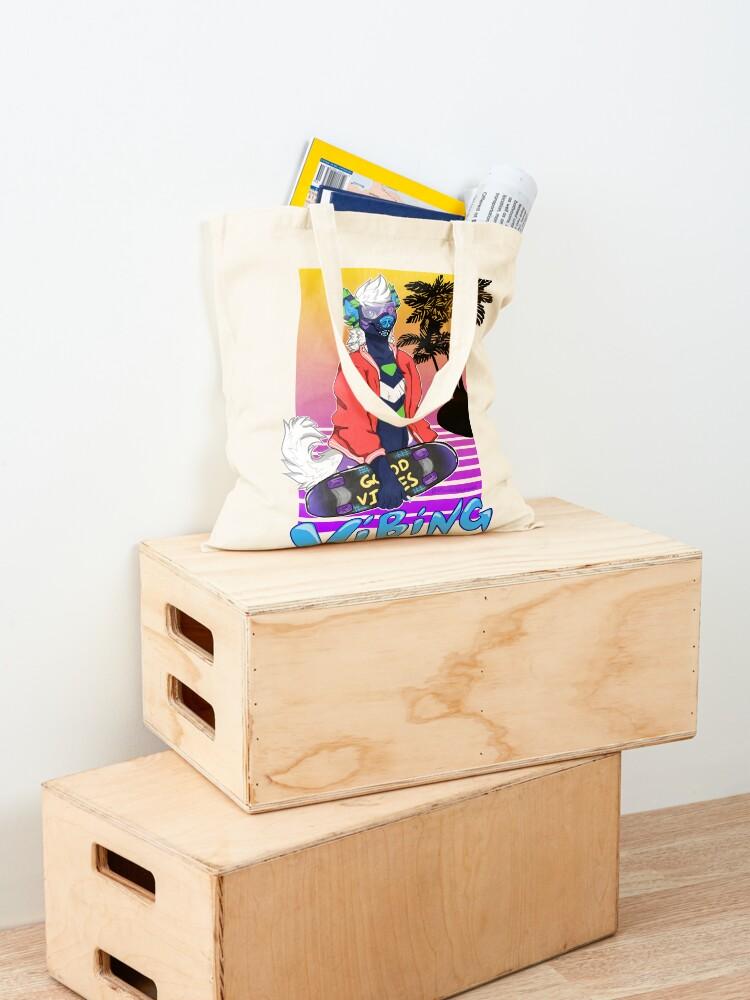 Alternate view of Vaporwave Vibing  Tote Bag