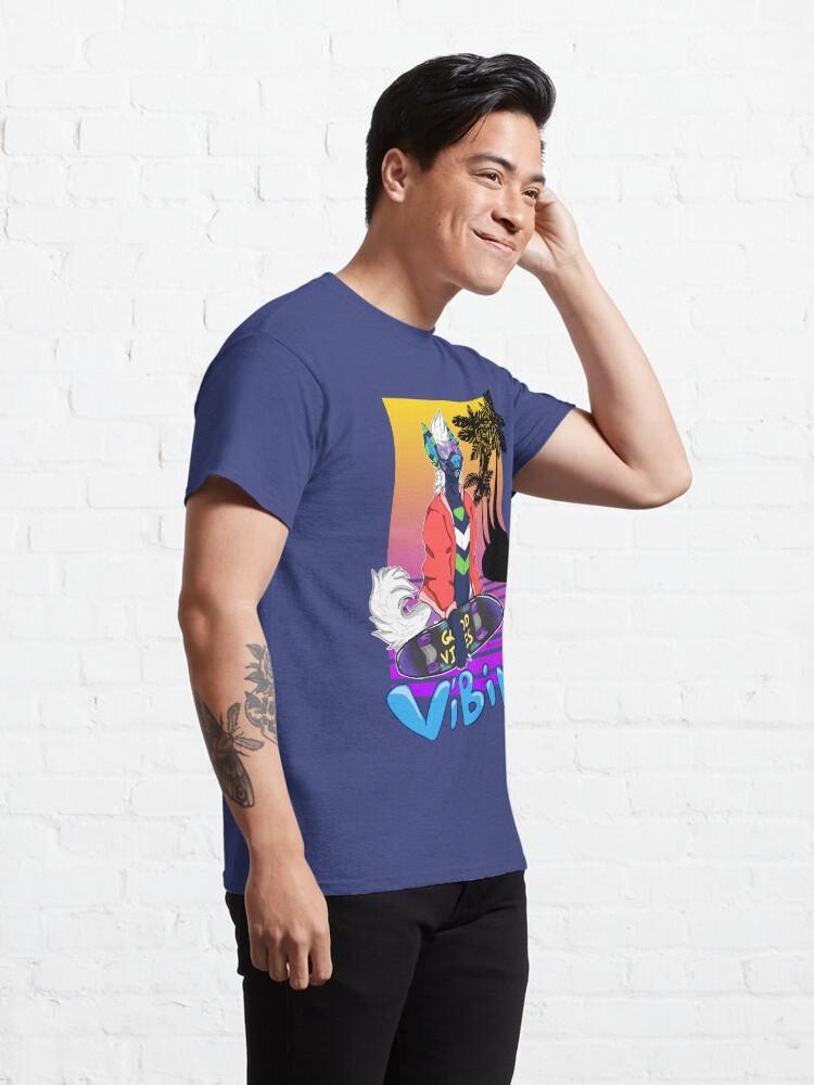 Alternate view of Vaporwave Vibing  Classic T-Shirt