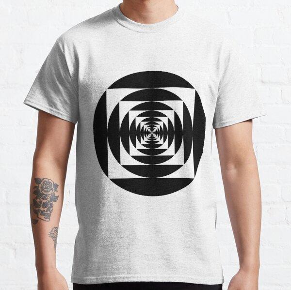 круг, circle, range, round, lap, disk, disc, окружность, circle, circumference, ring, round, periphery, circuit Classic T-Shirt