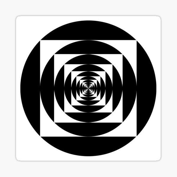 круг, circle, range, round, lap, disk, disc, окружность, circle, circumference, ring, round, periphery, circuit Sticker