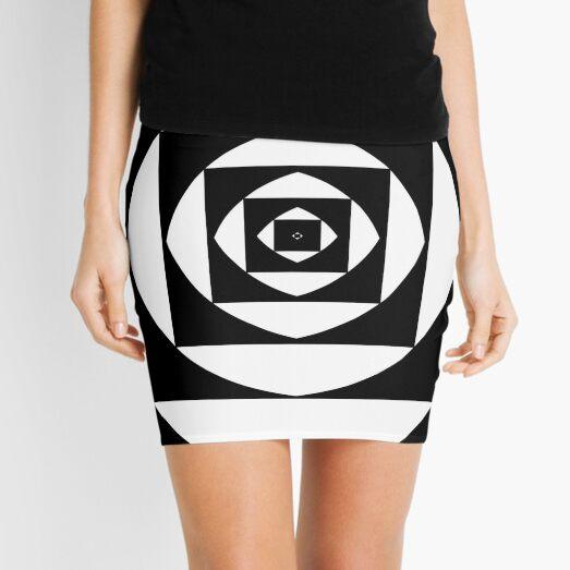 квадратный, square, quadratic, quadrate, foursquare, прямоугольный, rectangular, square, orthogonal, rightabout, right-angled Mini Skirt