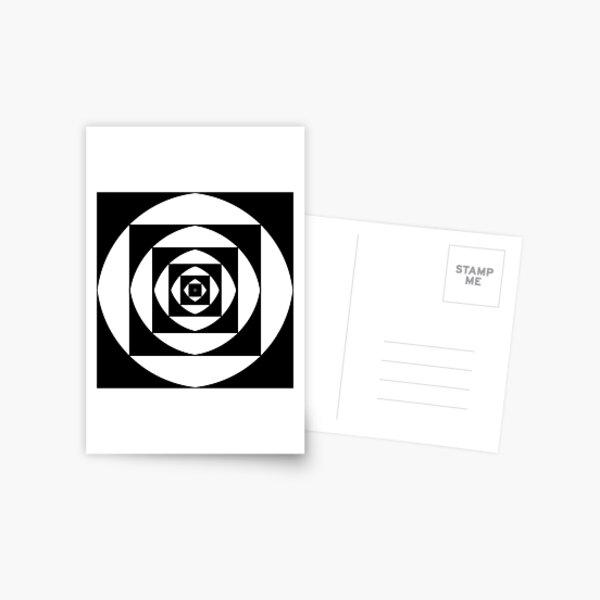 квадратный, square, quadratic, quadrate, foursquare, прямоугольный, rectangular, square, orthogonal, rightabout, right-angled Postcard