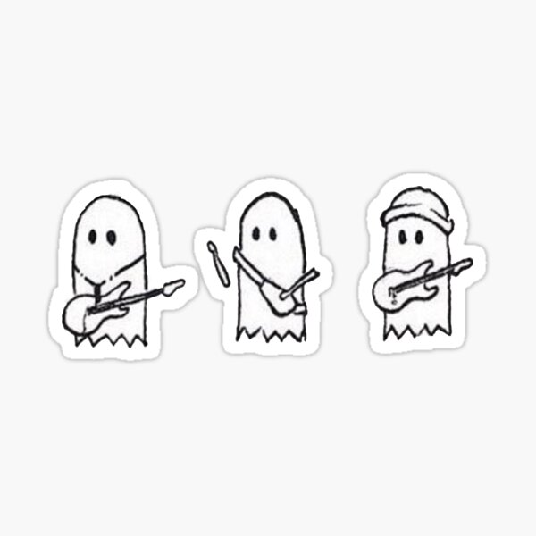 Julie the Phantoms 3 boys Sticker