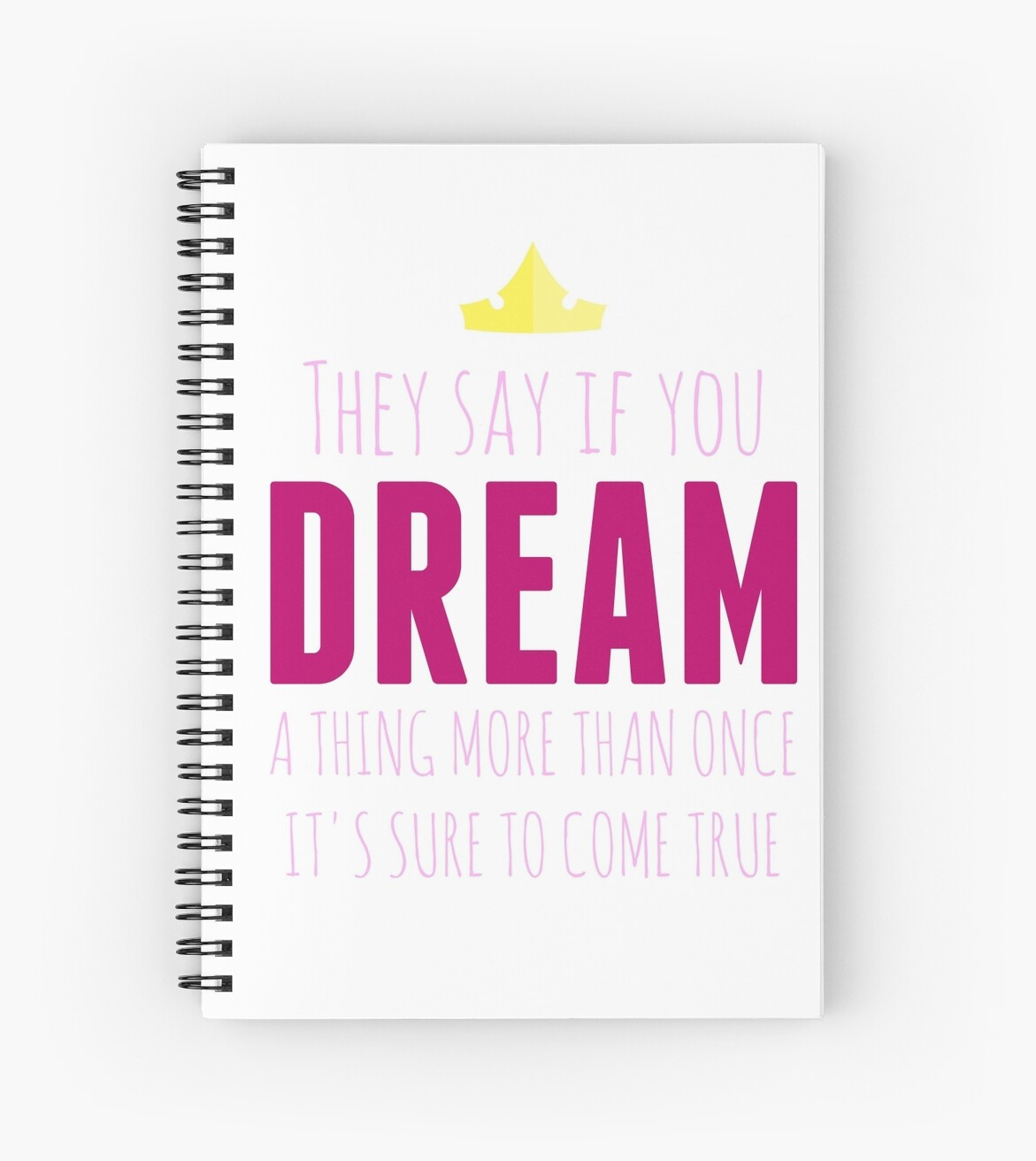 Once Upon A Dream Notebook by Lindsey Swann