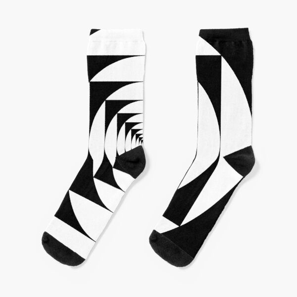 A square is inscribed in a circle and a circle is inscribed in a square Socks