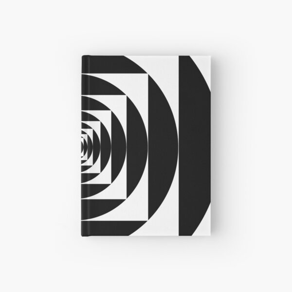 A square is inscribed in a circle and a circle is inscribed in a square Hardcover Journal