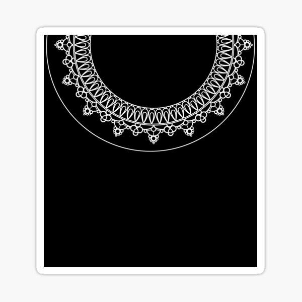 Ruth Bader Ginsburg Memorial Collar Sticker