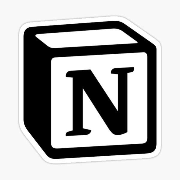Notion Logo Sticker