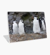 Chinstrap Penguins ~ Aerobics Workout Laptop Skin