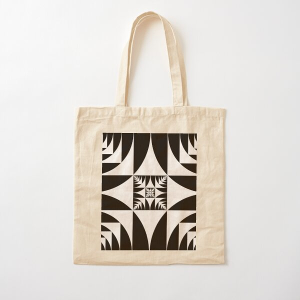 A square is inscribed in a circle and a circle is inscribed in a square Cotton Tote Bag