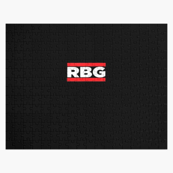 RBG Ruth Bader Ginsburg Old School Rap Short Sleev Jigsaw Puzzle