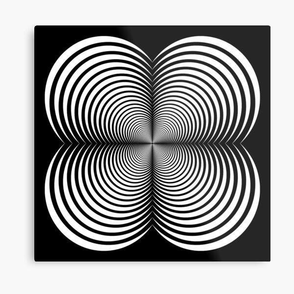 Circle, Emblem, Heart Metal Print