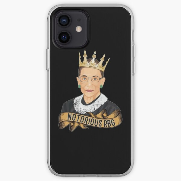 Notorious RBG Ruth Bader Ginsburg  iPhone Soft Case