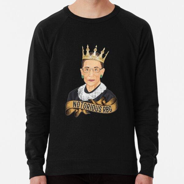 Notorious RBG Ruth Bader Ginsburg  Lightweight Sweatshirt