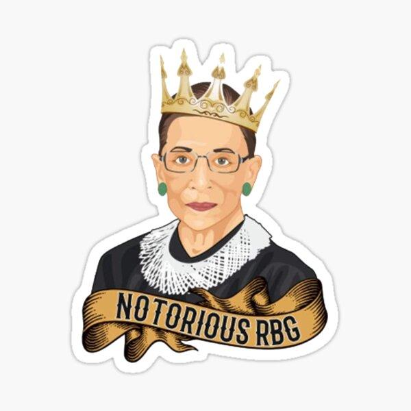 Notorious RBG Ruth Bader Ginsburg  Sticker