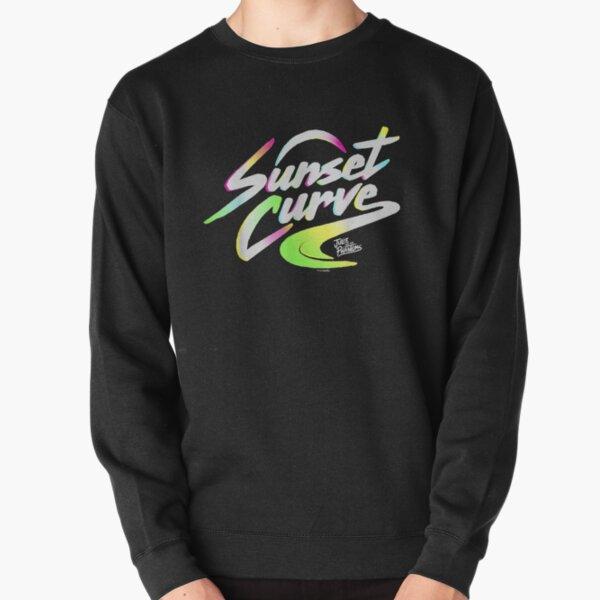 Sunset_Curve_logo_gifts Pullover Sweatshirt