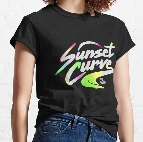 Sunset_Curve_logo_gifts T-shirt classique