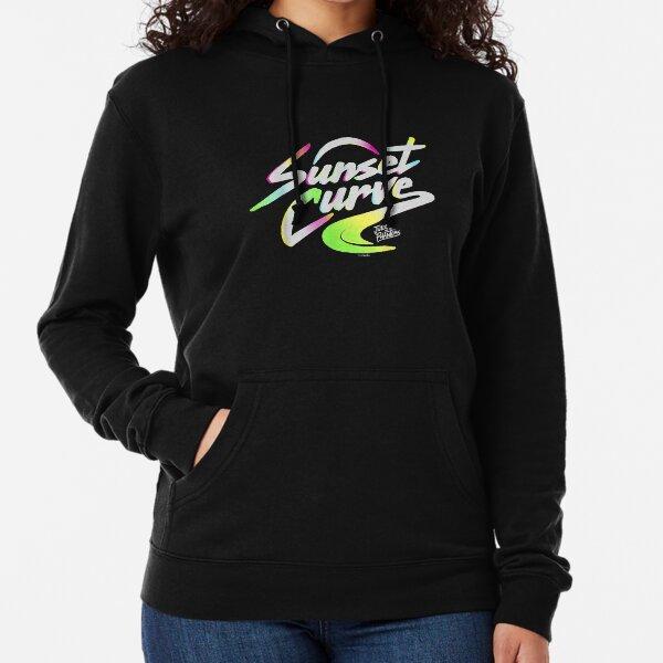 Sunset_Curve_logo_gifts Sweat à capuche léger