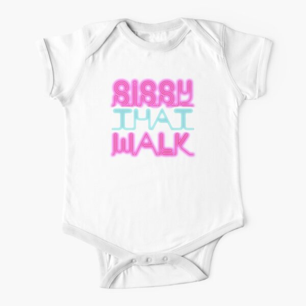 Sissy That Walk [Rupaul's Drag Race] Short Sleeve Baby One-Piece