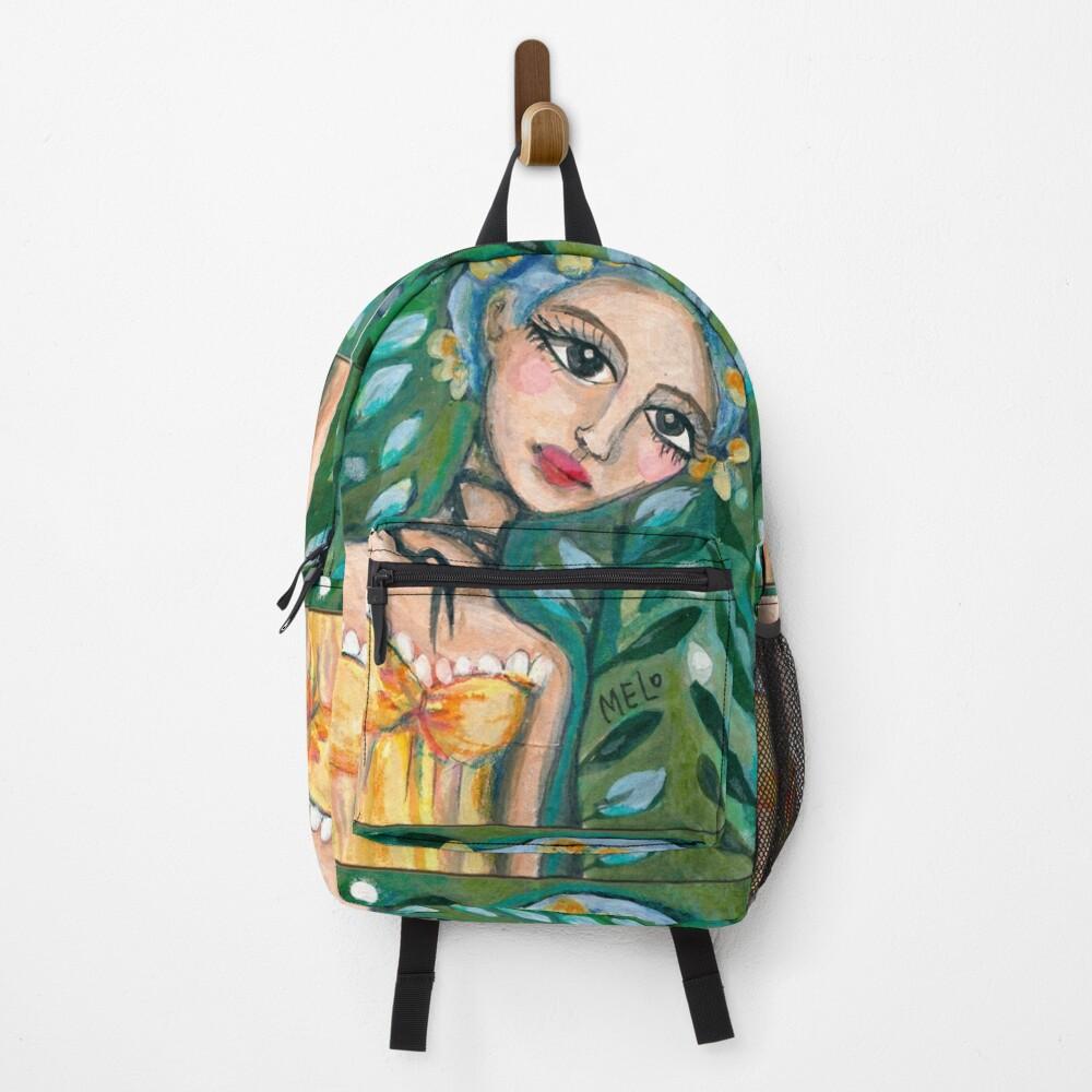 Frida Kahlo - Her Yellow Dress Backpack