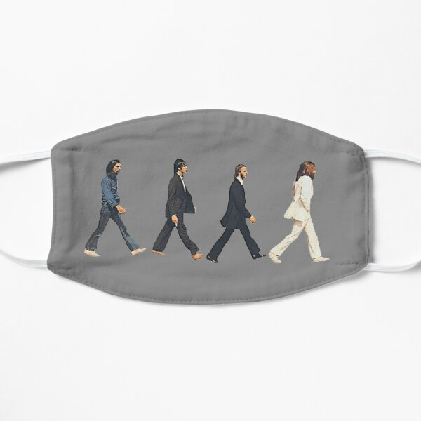 Music Icon Beatles (gray) Mask