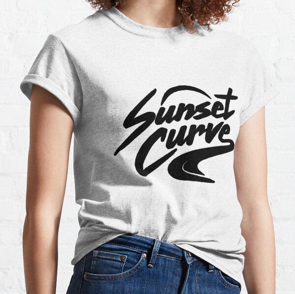 Sunset_Curve_logo_Men_gifts Classic T-Shirt