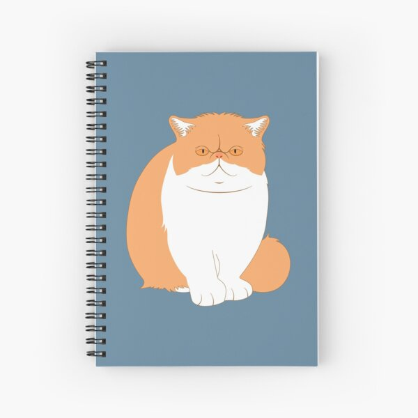 Exotic Shorthair Cat  Spiral Notebook