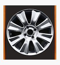 car aluminum wheel Photographic Print