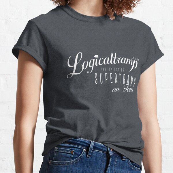 Logicaltramp on tour (basic white) Classic T-Shirt