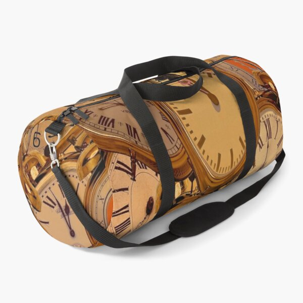 Distortion Of Time Duffle Bag