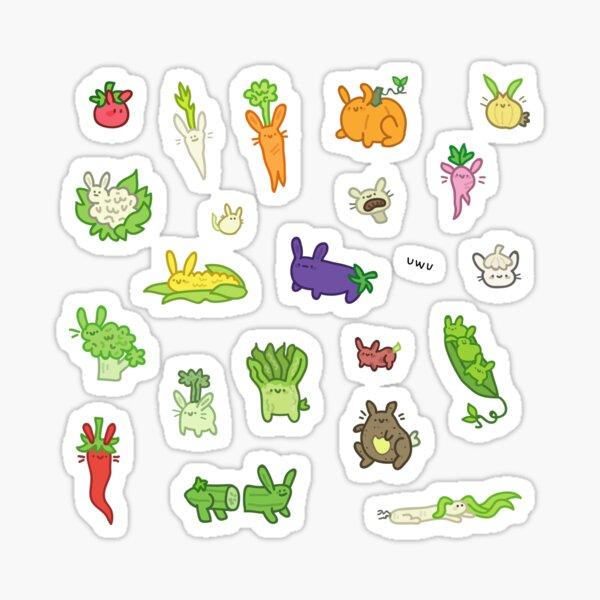veggie buns Sticker
