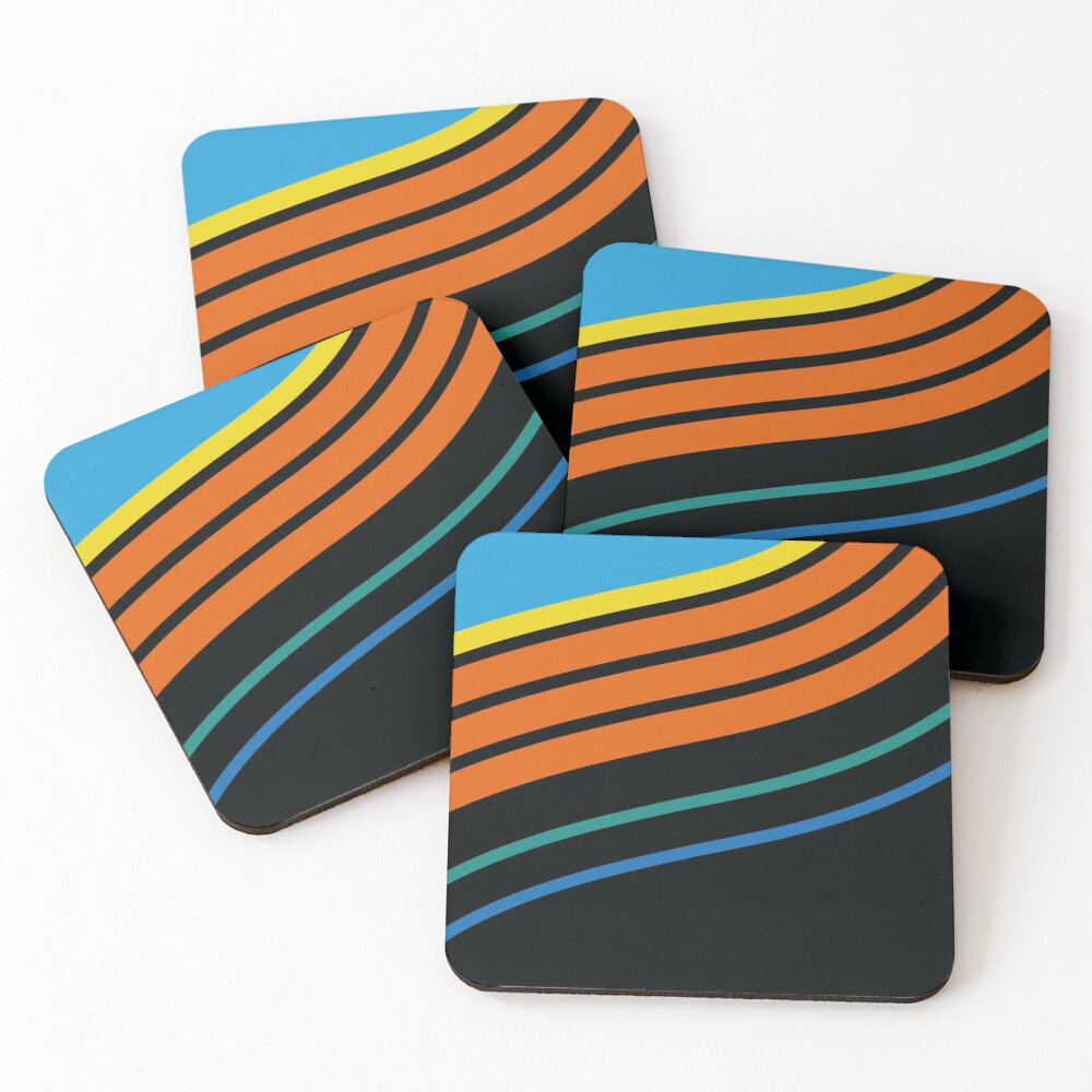 KC WIZ 96ᴴ Coasters (Set of 4)