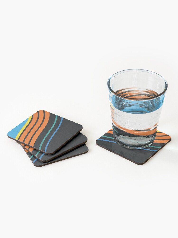 Alternate view of KC WIZ 96ᴴ Coasters (Set of 4)