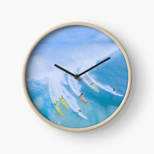 Beach Aesthetic Clocks Redbubble