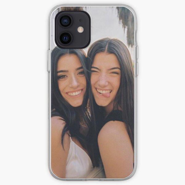 Charli and dixie damelio iPhone Soft Case