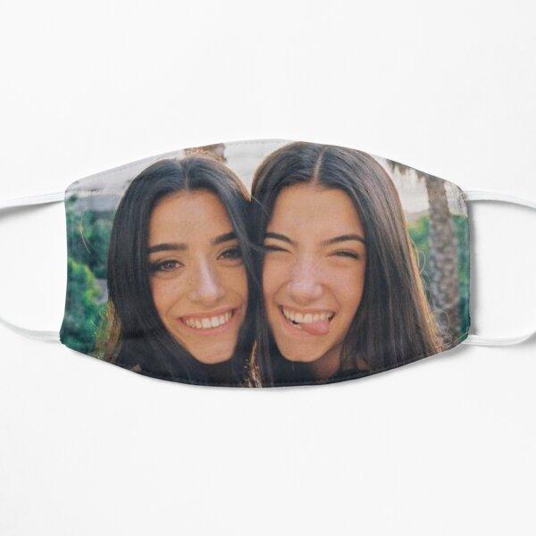 Charli and dixie damelio Flat Mask