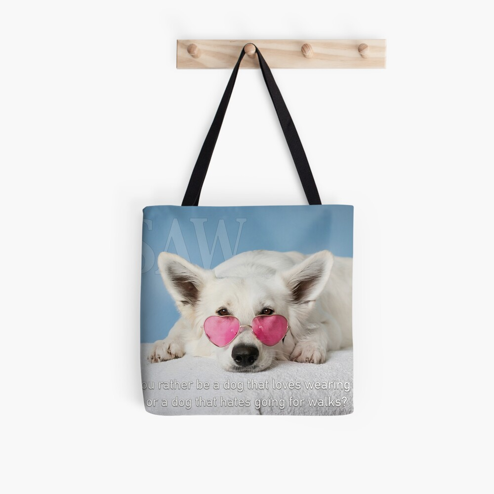 Loves Glasses or Hates Walks Tote Bag
