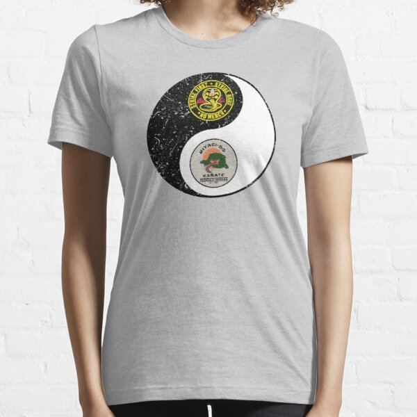 Cobra Kai vs Miyagi do - yin yang Essential T-Shirt