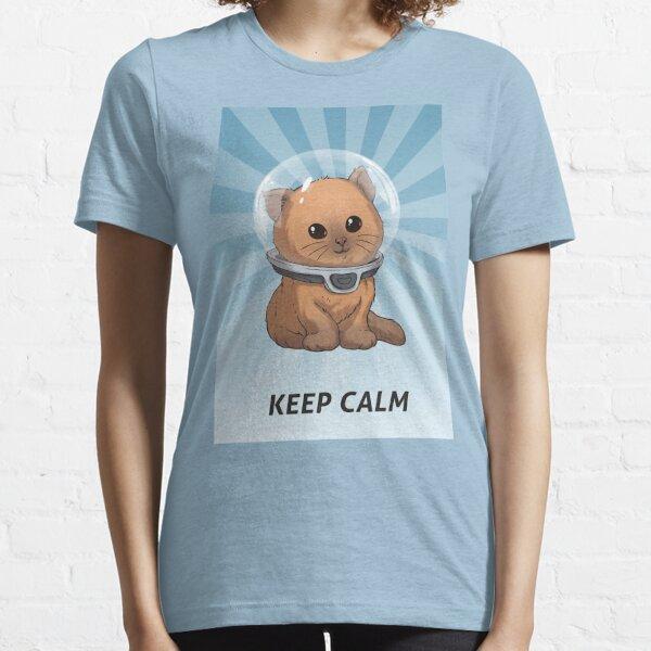 keep calm kitty-SUBNAUTICA Essential T-Shirt