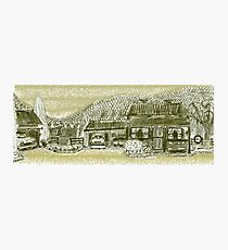 Country Shack Photographic Print