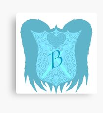A Beauxbatons school crest. Canvas Print