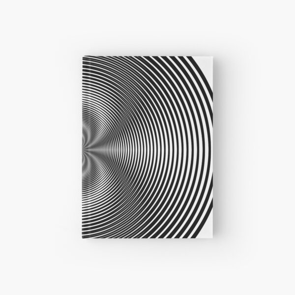 Circle Grid Hardcover Journal